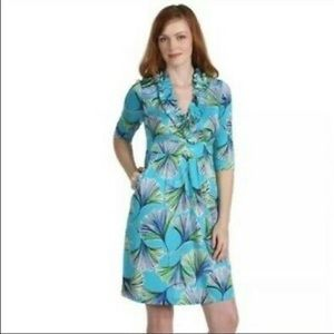 Lilly Pulitzer Blayney Ruffle Lets Get Ginky Dress